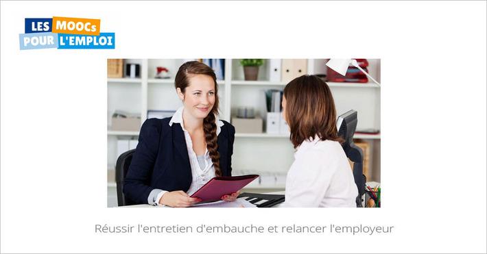 Aujourd'hui sur vos écrans, la 2e session du MOOC Réussir l'entretien d'embauche et relancer l'employeur | MOOC Francophone | Scoop.it