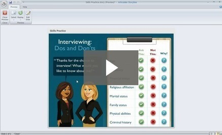 How to quickly create click-and-reveals - Articulate Storyline | e-Learning development with articulate storyline | Scoop.it
