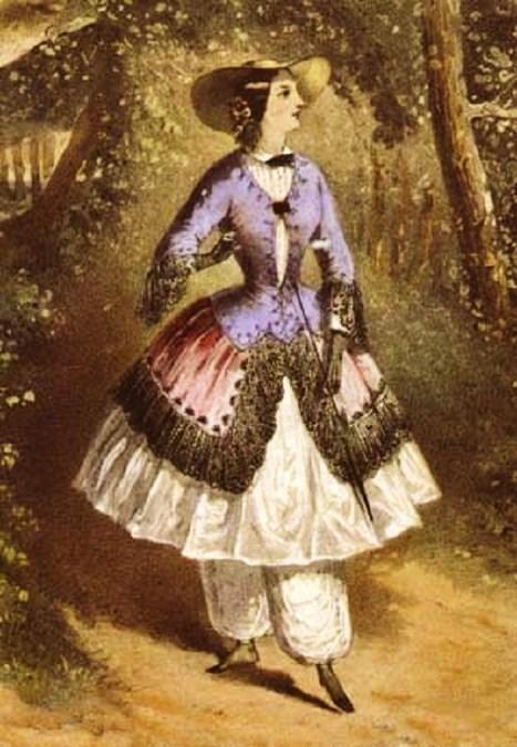 19C American Women: Amelia Jenks Bloomer 1818-1894 & the story of bloomers | Herstory | Scoop.it