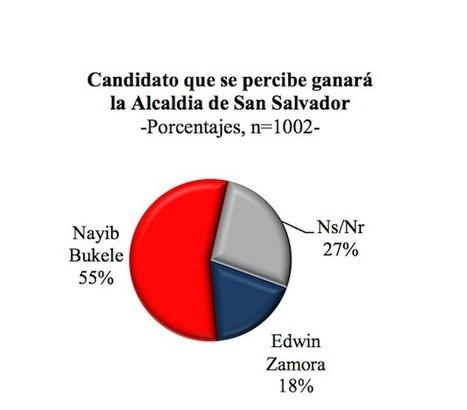 CID Gallup: Nayib Bukele 43%, Edwin Zamora 25% | HISTORIAS & REALIDADES | Scoop.it