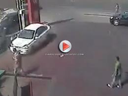 Bourré, il percute une voiture puis tente de s'enfuir... Sans aller bien loin | Fail | Scoop.it