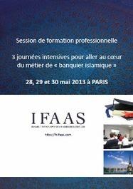 Métier de « banquier islamique » : IFAAS organise une formation intensive de 3 jours à Paris | Actualité de la finance easi | Scoop.it