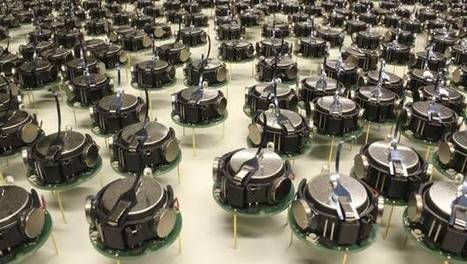 This horde of tiny robots swarms toward artificial intelligence | Peer2Politics | Scoop.it