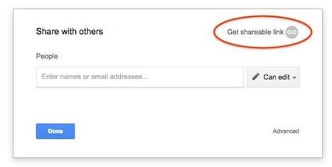 Google Drive Blog: Sharing just got a little easier. | My K-12 Ed Tech Edition | Scoop.it