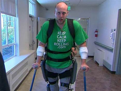 'Bionic' suit helps paralyzed patients walk again | Spinal Injuries and Paralysis News and Information | Scoop.it