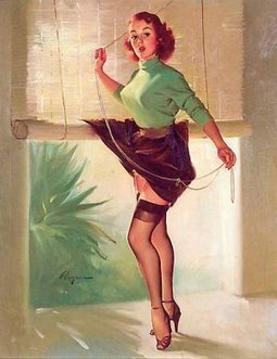 Gil Elvgren Vintage Pin Up Girls Gallery15   Rockabilly   Scoop.it