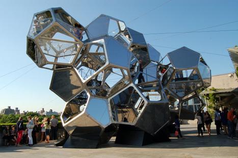 Tomas Saraceno: Cloud City   Art Installations, Sculpture, Contemporary Art   Scoop.it