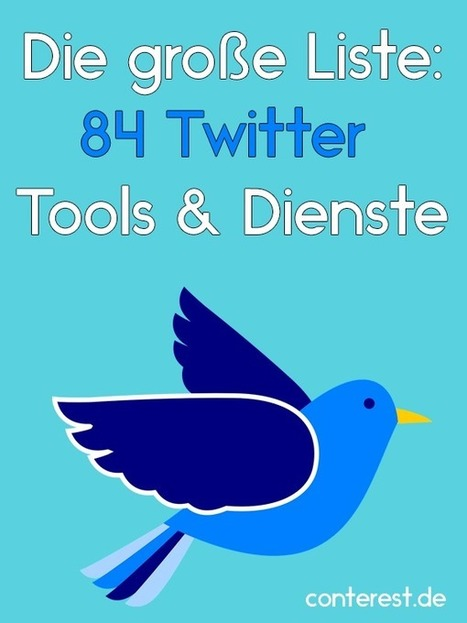Die große Liste: 84 Twitter Tools & Dienste | Social Media & Marketing | Scoop.it