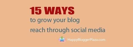 How to increase blog traffic using social media: Facebook, Twitter, and Pinterest | Social Media & Marketing | Scoop.it