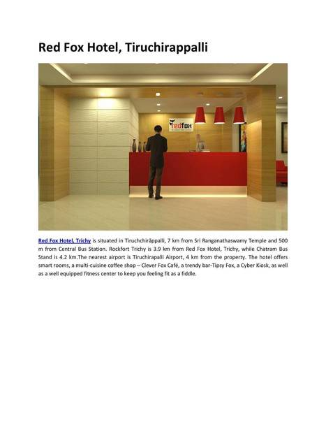 Economy Hotels Trichy | hotels | Scoop.it