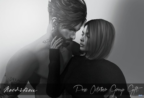 Couple Pose October 2016 Group Gift by NOeditiON | Teleport Hub - Second Life Freebies | Second Life Freebies | Scoop.it
