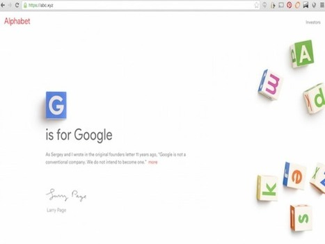 Is Google Alphabet .xyz The New .com? | Library Evolution | Scoop.it