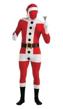 Combinaison intégrale Père Noël 2nd Skin® - Deguisement Adulte - Rue de la fete | deguisement pere noel | Scoop.it