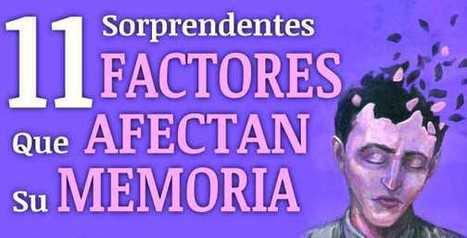 11 Increíbles Factores que Afectan su Memoria | @CNA_ALTERNEWS | PIENSA en VERDE | Scoop.it