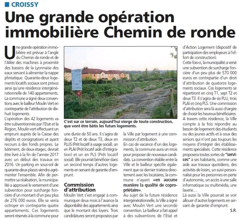 182 logements sur le chemin de ronde | Croissy sur Seine | Scoop.it