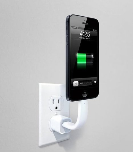 Cable Lightning flexible que carga y sostiene al iPhone 5   android new news   Scoop.it