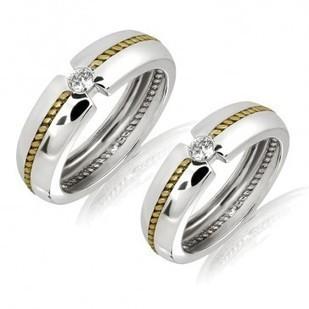 Buy Designer Engagement Ring, Diamond Couple Ring   MyGlitzJewels   myglitzjewels   Scoop.it