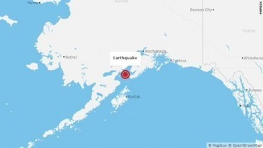 Un séisme de magnitude 7,1 a été observé dimanche au sud de l'Alaska   Les infos de SXMINFO.FR   Scoop.it