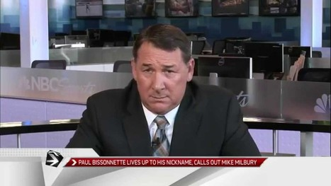 Mike Milbury Continues The Battle With Paul Bissonnette | Hockey | Scoop.it