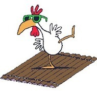 Chicken on a Raft   WTF?   Scoop.it