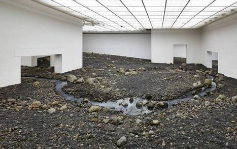 Olafur Eliasson: Riverbed | Art and Desire | Scoop.it