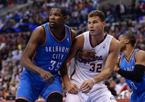 Clippers can live with their numbers – Durant topping 30 points | busness | Scoop.it