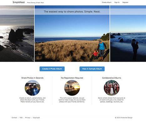Créer des albums photo collaboratifs, c'est facile avec SimpleNeat | La com, le web, tout ça | Scoop.it
