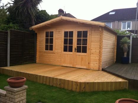 Log Cabin Insulation Insulate Garden Office