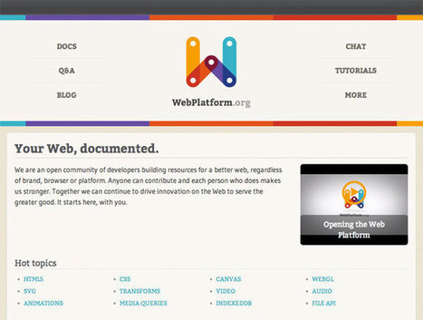The top 20 HTML5 sites of 2012 | Feature | .net magazine | Technology and Gadgets | Scoop.it