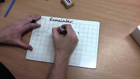 9. Division - Chunking with Remainders - YouTube   Chunking in Mathematics   Scoop.it