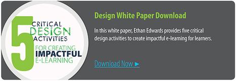 Five Critical Design Activities for Creating Impactful E-Learning | APRENDIZAJE | Scoop.it