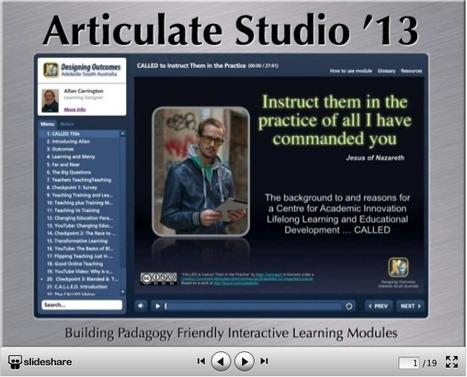 Articulate Studio '13 … Hello Boys I'm Back! | The Padagogy Wheelhouse | Scoop.it
