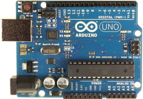 Arduino UNO R3 Board with ATmega328P Microcontroller, ATmega16U2 and USB (B006H06TVG) | Raspberry Pi | Scoop.it