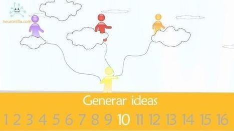 Guía Neuronilla para Generar Ideas (vídeo y textos) | Serious Play | Scoop.it
