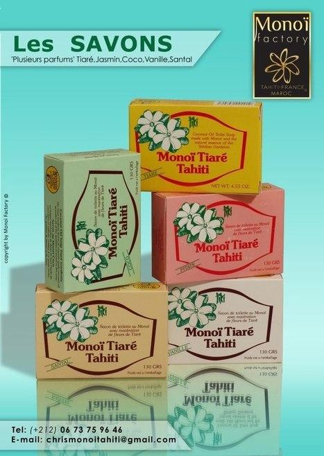Savons 5 parfums par Aloha Monoi Factory | Products by Aloha Monoi Factory | Scoop.it