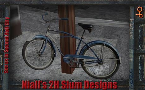 Street Clutter Bike 1 by 2H   Teleport Hub   Second Life Freebies   Scoop.it