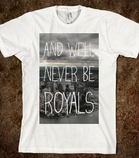 Lorde Royals New York City Shirt - Lorde Merchandise - Skreened T-shirts, Organic Shirts, Hoodies, Kids Tees, Baby One-Pieces and Tote Bags | LORDE MERCHANDISE | Scoop.it