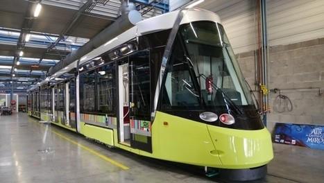 Saint-Etienne : la première rame du tramway à bon port | L'actu des tramways | Scoop.it