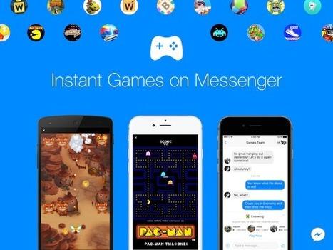 Facebook utilise Pac-Man pour créer plus d'engagement sur Messenger   Réseaux sociaux : Tendances & fonctionnalités   Scoop.it