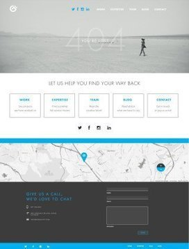 50 Of The Most Creative 404 Pages On The Web – Design School | Marketing Leadership - A 3 World Mix | Scoop.it