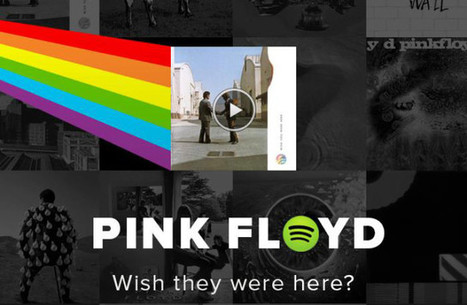 Pink Floyd bientôt sur Spotify... si vous le voulez bien ! - My Band News | Musique et Innovation | Scoop.it
