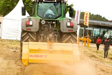 Travail du sol: le broyeur Kirpy réduit les pierres en charpie | Machinisme viticole | Scoop.it