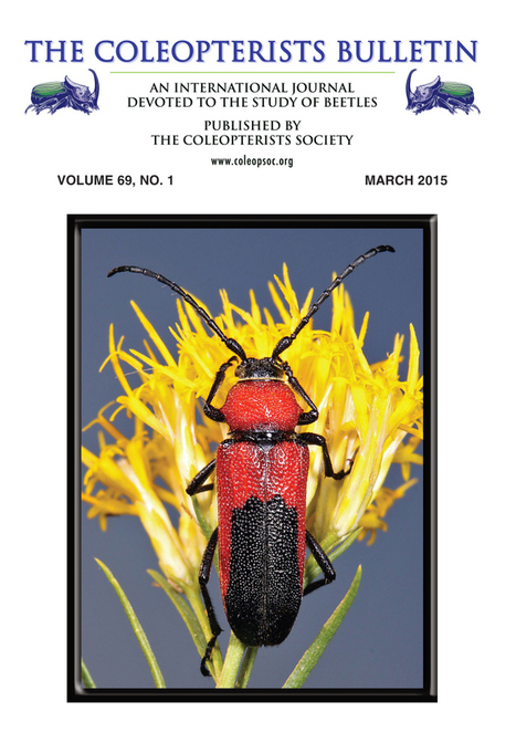 Cover Photo—The Coleopterists Bulletin 69(1) | GarryRogers NatCon News | Scoop.it