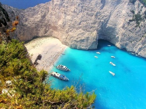 Navagio Beach, the Most Beautiful Beach of Greece | Amusing Planet | Everything from Social Media to F1 to Photography to Anything Interesting | Scoop.it