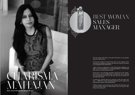 Charisma Mahajan Head – Account Management, Thomson Reuter Best Woman Sales Manager Winner | Women In Sales | Scoop.it