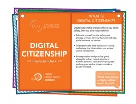 Digital Citizenship Flashcards | E-Learning Methodology | Scoop.it