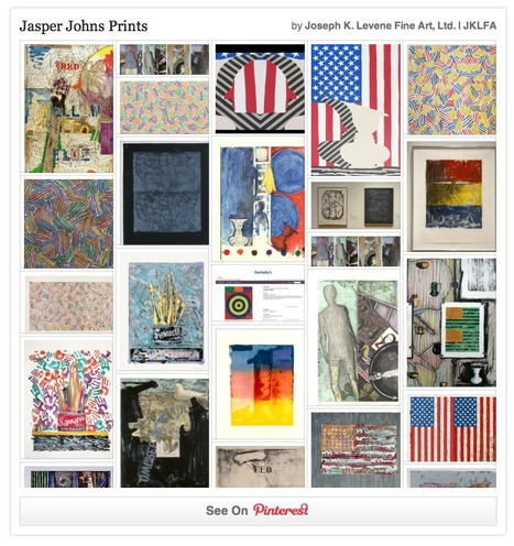 Follow Jasper Johns Prints on Pinterest, curated by Joseph K. Levene Fine Art, Ltd.   Jasper Johns   Scoop.it