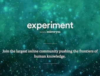 Future-ish: Experiment | A New Science Crowdfunding Platform | Crowdfunding Science | Scoop.it