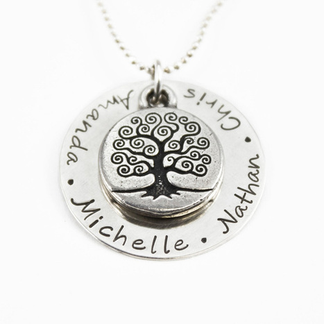 Family Tree Personalized Necklaces | Best Gifts 2015 - Unique Gift Ideas | Scoop.it