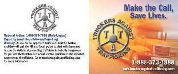Truckers Against Human Trafficking | Social Network for Logistics & Transport | Scoop.it